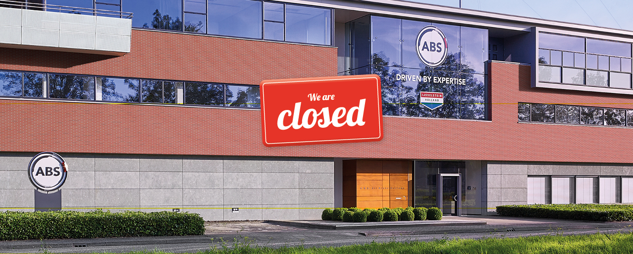 ABS closed on Pentecost Monday